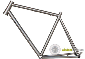 Advantages of Titanium Bicycle Fame---Wisdom Titanium Bicycle Parts