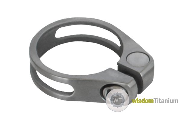 Titanium Seat Post Clamp 34.9mm/31.6mm