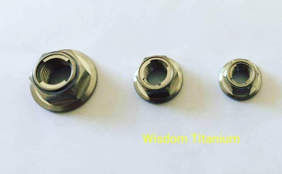 titanium all metal lock nut